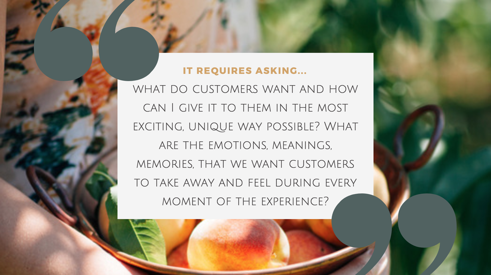 customer experience hospitality hotel
