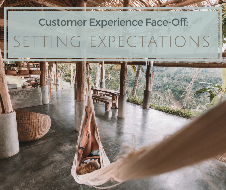setting marketing expectations hospitality and hotels